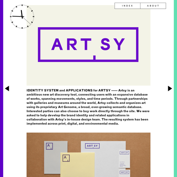 New York-based graphic design studio, focusing on print, interactive, identity, and exhibition work for the arts and cultural sector.