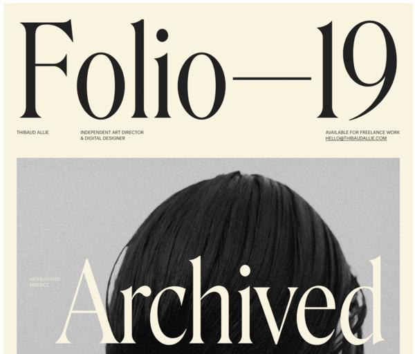 Typefaces: Roslindale & graphik