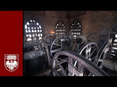 Inside a Bell Tower: Change Ringing at UChicago's 17th century Mitchell Bell Tower.