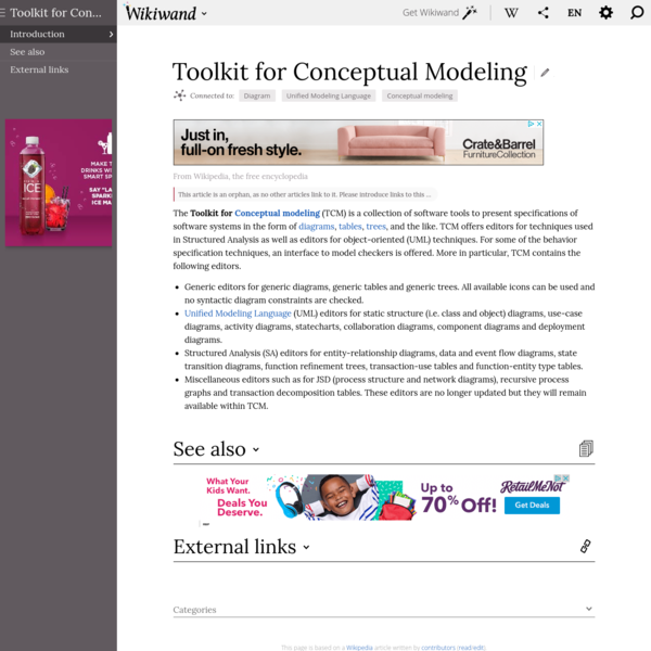 Toolkit for Conceptual Modeling | Wikiwand