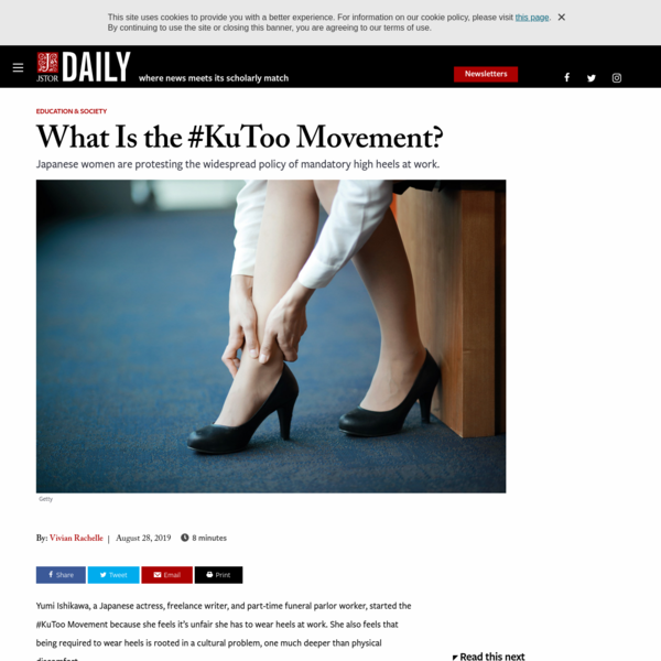 What Is the #KuToo Movement? | JSTOR Daily