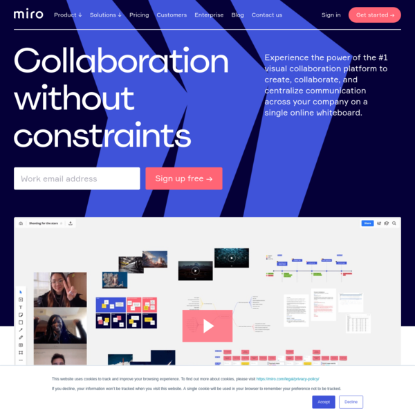 Team Collaboration Software | Miro, formerly RealtimeBoard