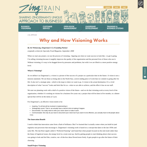 Why and How Visioning Works | ZingTrain