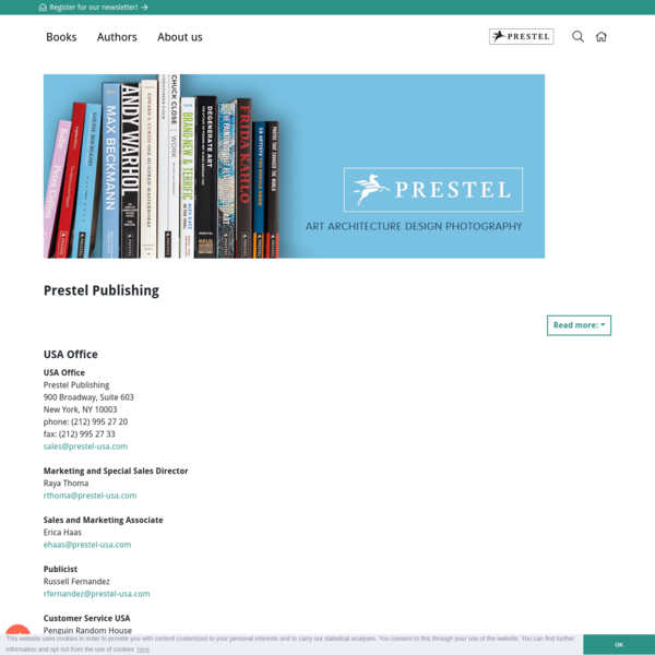 ✔️Contact | About Prestel Publishing