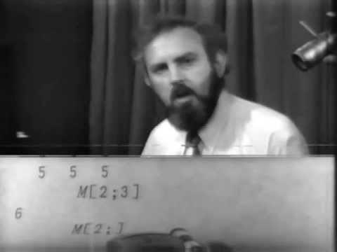 APL demonstration 1975