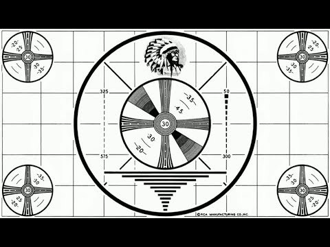 Native American Head Test Pattern