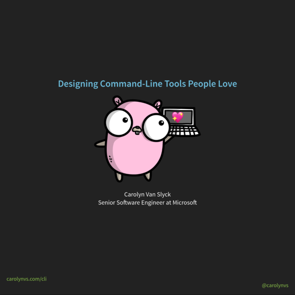 Designing Command-Line Tools People Love