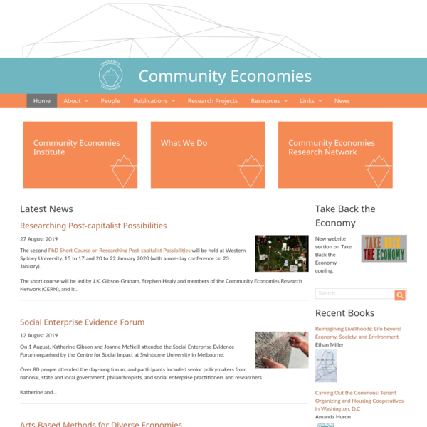 News | Community Economies