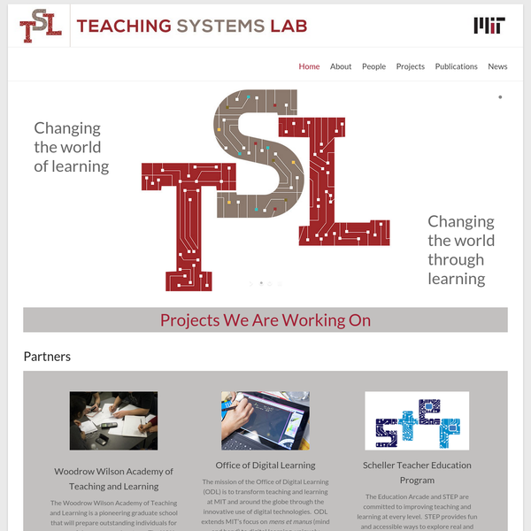 Teaching Systems Lab