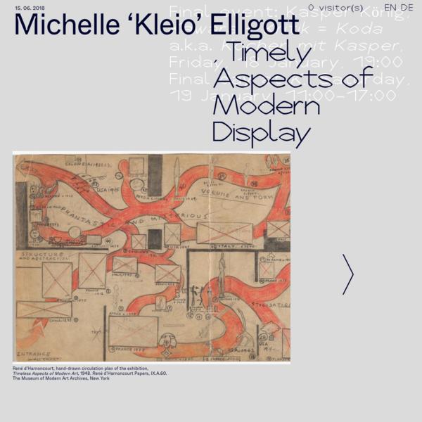 K, A Year with P. | Michelle 'Kleio' Elligott