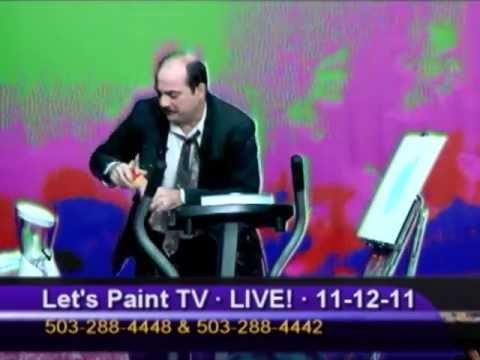 Experimental ½ Hour - Episode XXV: Let's Paint TV
