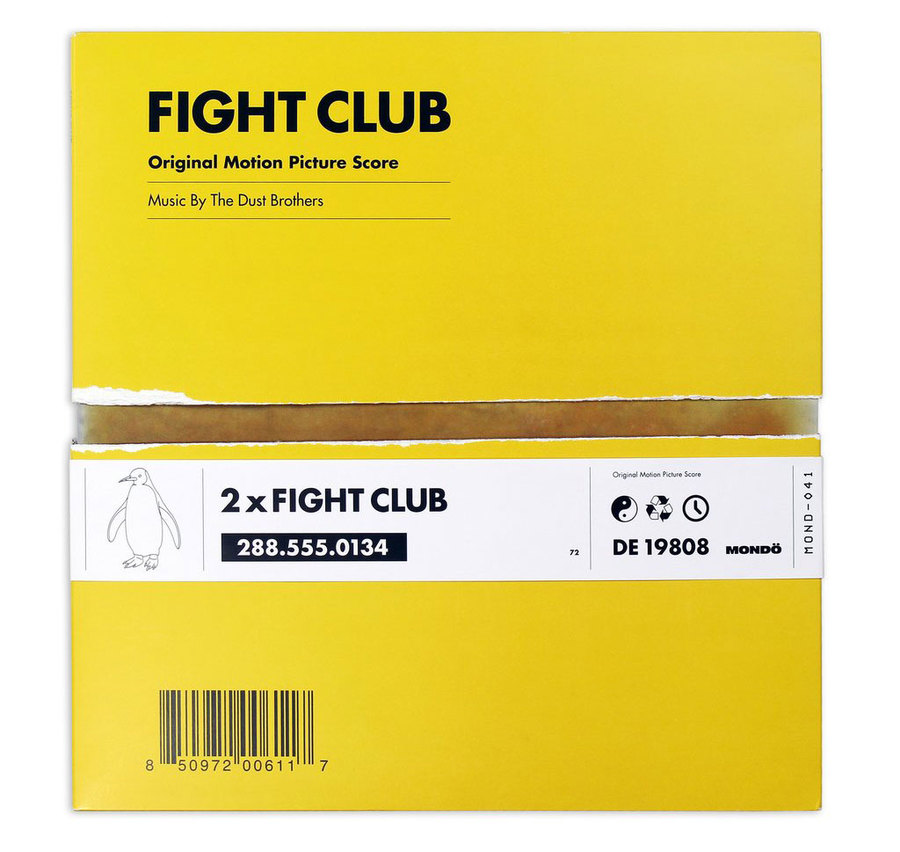 FIGHT CLUB 2XLP by Alan Hynes