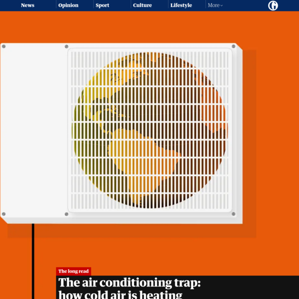 The air conditioning trap: how cold air is heating the world