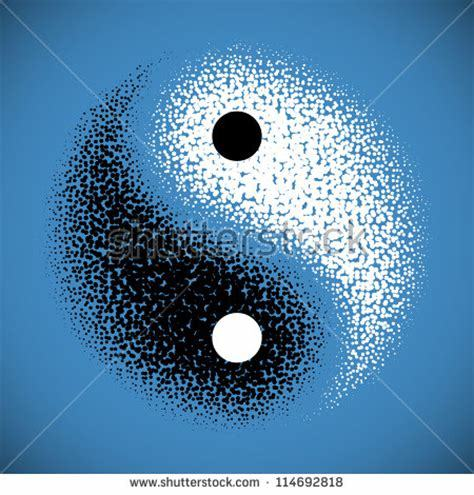 yin yang em gradientes continuidades