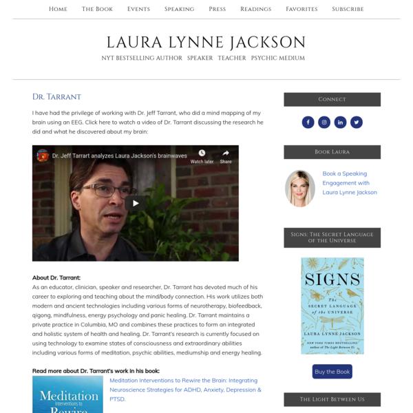 Dr. Tarrant - Laura Lynne Jackson