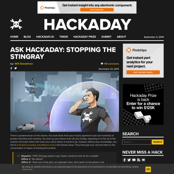 Ask Hackaday: Stopping The Stingray