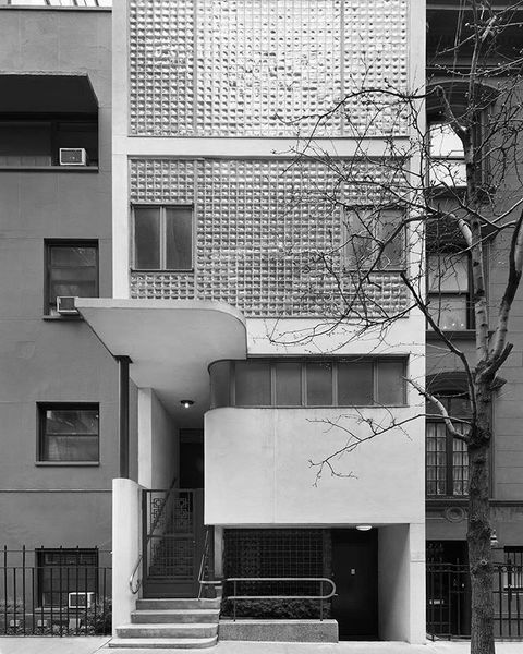 William Lescaze House, 211 East 48th Street, Manhattan, Nee York, New York, USA designed by (and for, the building served as...