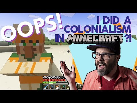 Minecraft, Sandboxes, and Colonialism | Folding Ideas