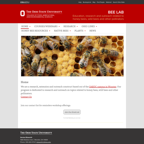 Bee Lab | Education, research and outreach related to honey bees, wild bees and other pollinators