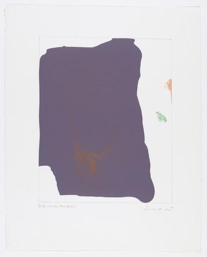 Helen Frankenthaler Variation I on Mauve Corner 1969
