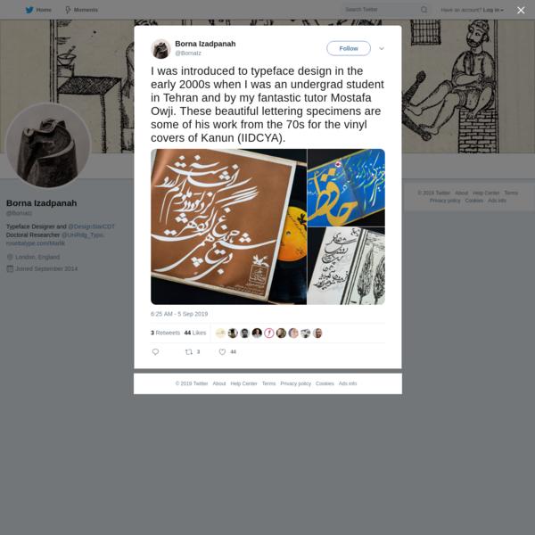 Borna Izadpanah on Twitter