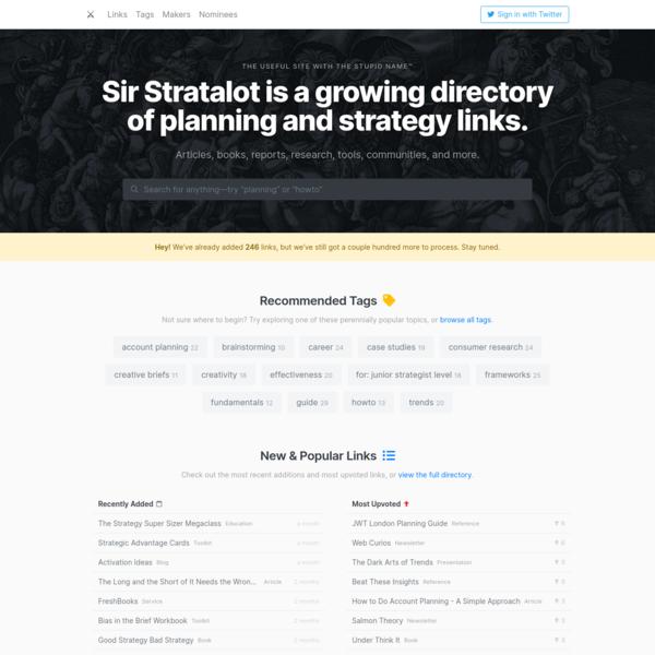 Sir Stratalot