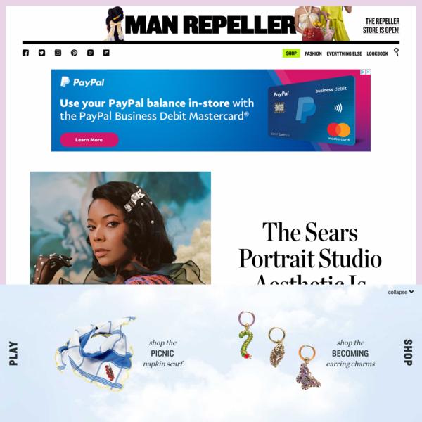 The Sears Portrait Studio Aesthetic Is Back, Baby - Man Repeller