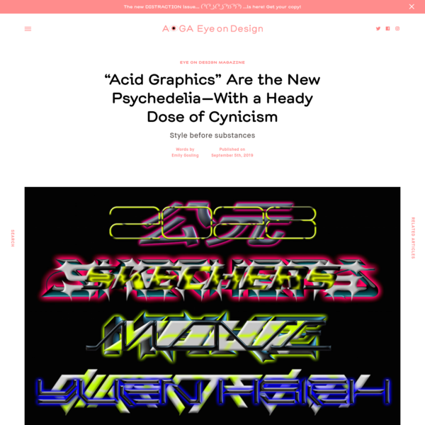 """""""Acid Graphics"""" Are the New Psychedelia—With a Heady Dose of Cynicism 