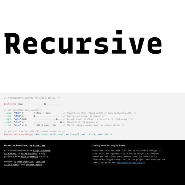 Recursive   Recursive