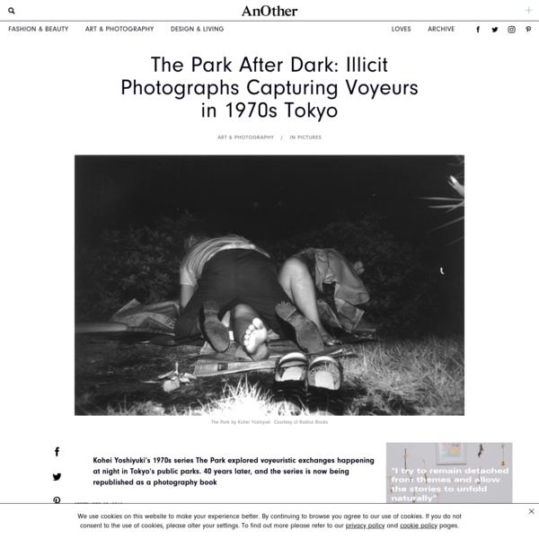 Illicit Photographs Capturing Voyeurs in 1970s Tokyo