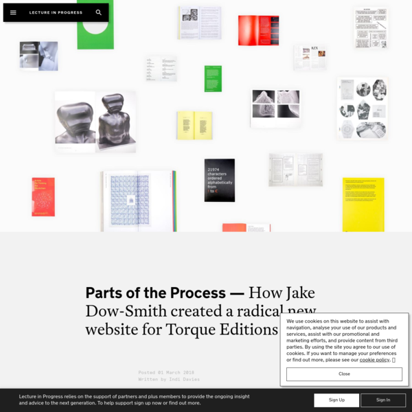 How Jake Dow-Smith created a radical new website for Torque Editions