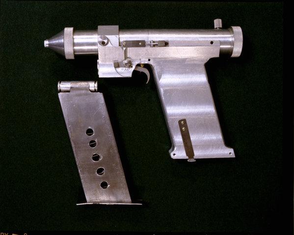Soviet laser pistol