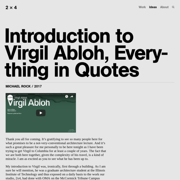 Introduction to Virgil Abloh, Everything in Quotes - 2x4