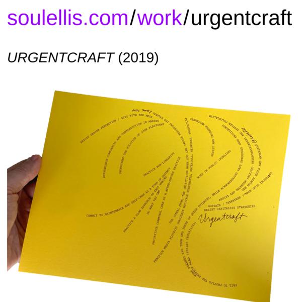 soulellis.com/work/urgentcraft.html