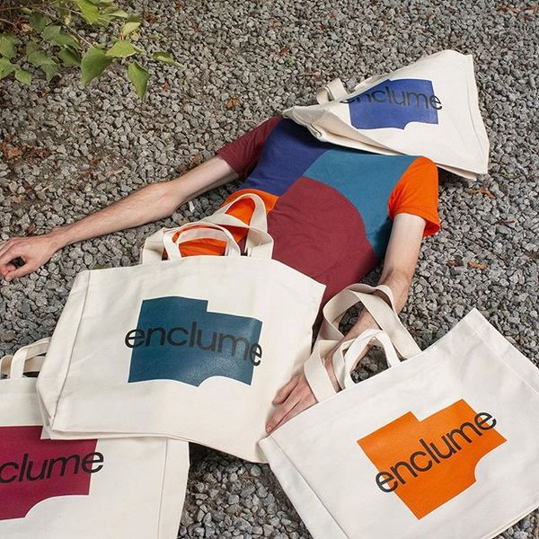 Montreal-based studio @demandespeciale devised the identity for Enclume, a territorial development studio specialising in th...