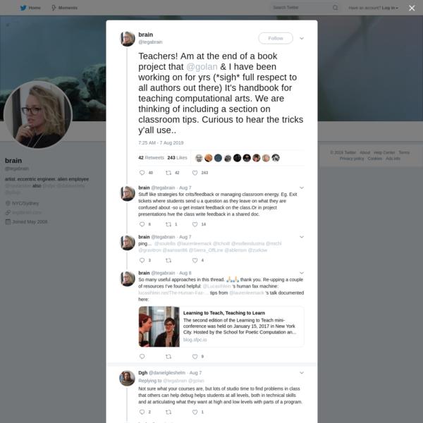 brain on Twitter
