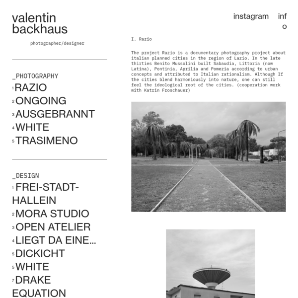 Valentin backhaus