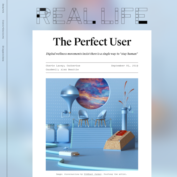 The Perfect User - Real Life