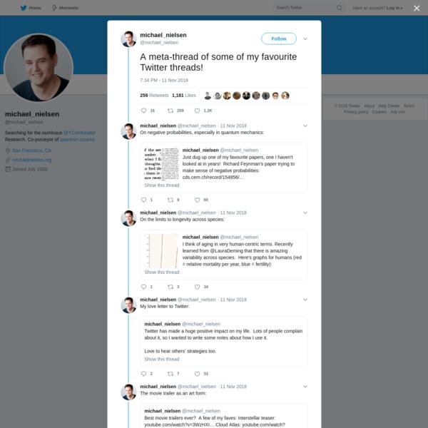 michael_nielsen on Twitter