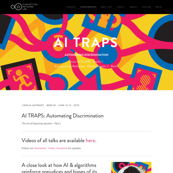 AI TRAPS - Disruption Network Lab