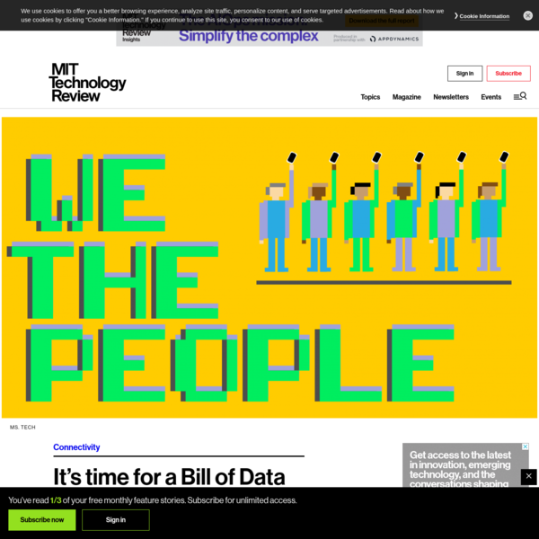 It's time for a Bill of Data Rights