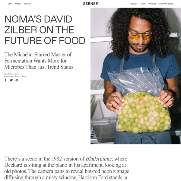 Noma's David Zilber on the Future of Food
