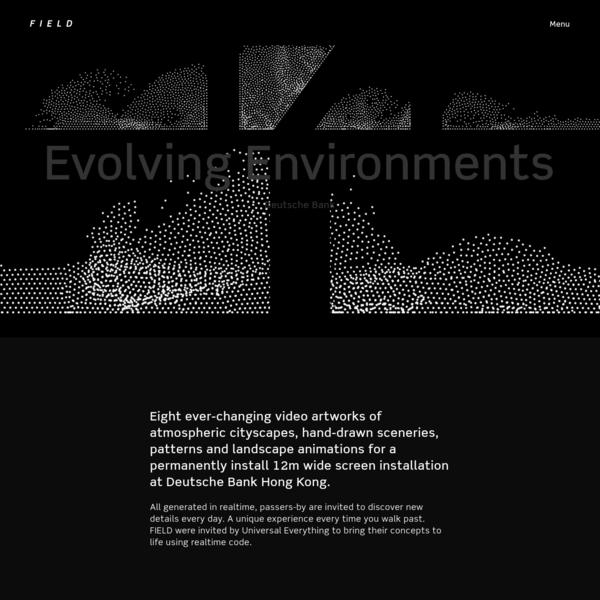 FIELD x Deutsche Bank - Evolving Environments