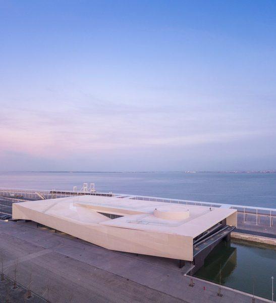 Porto de Lisboa.Carrilho da Graça Arquitectos