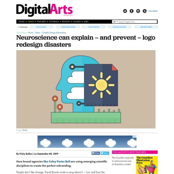 Neuroscience can explain why some logo redesigns flop - News - Digital Arts