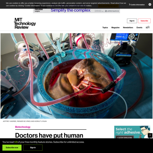 Doctors have put human livers in suspended animation