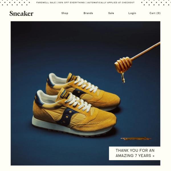 Sneaker | Charleston, SC | Shop Carhartt, New Balance, Stussy, Veja
