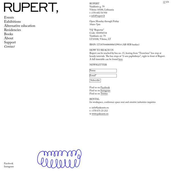 Contact - Rupert