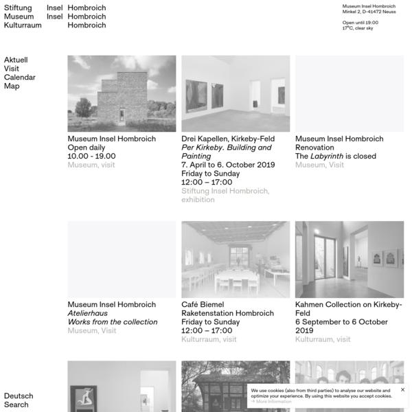 Stiftung Insel Hombroich - Museum Insel Hombroich - Kulturraum Hombroich
