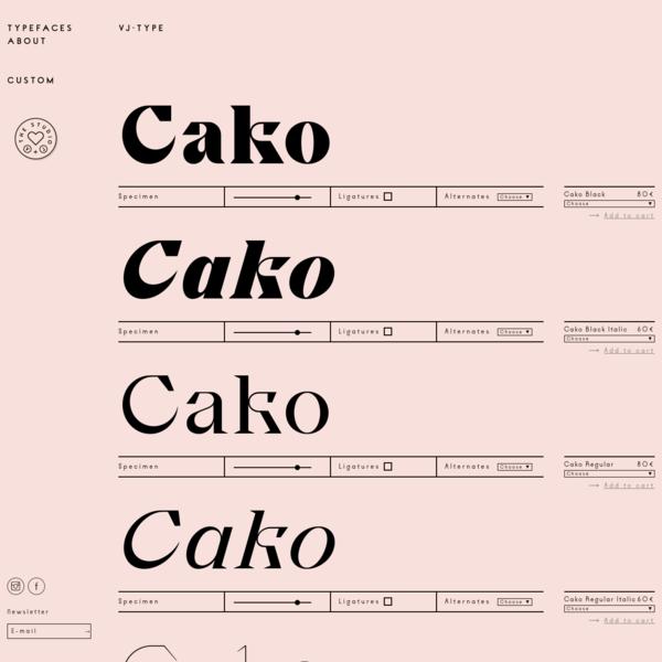 Cako Family - VJ-TYPE
